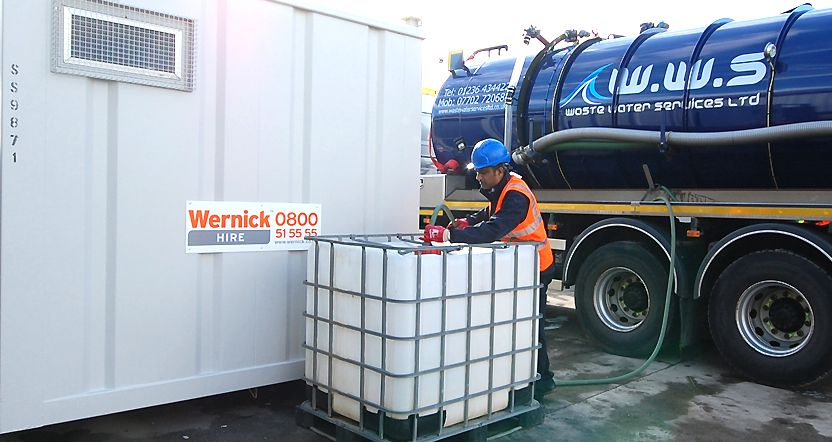 WATER STORAGE EQUIPMENT HIRE